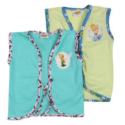 Buzzy Sleeveless Vests - Set Of 2