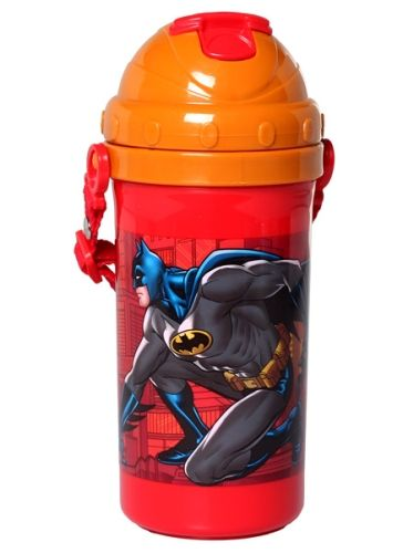 Batman - Push Button Sipper Bottle