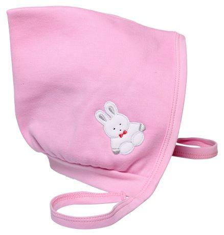 Child World Large Baby Cap Teddy Print - Pink