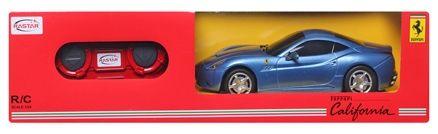 Rastar - R/C Blue Ferrari California