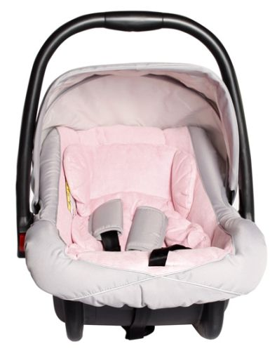 Mee Mee Car Seat N Carry Cot - Baby Pink