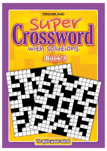 Dreamland Publication Super Crossword 1 - English