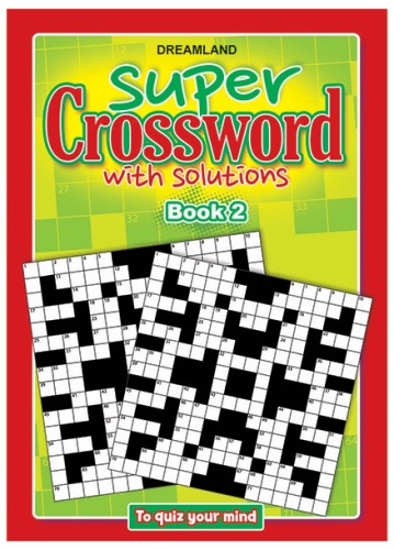 Dreamland Publication Super Crossword 2 - English