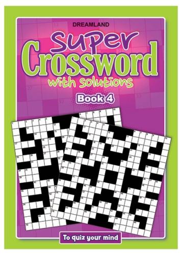 Dreamland Publication Super Crossword 4 - English