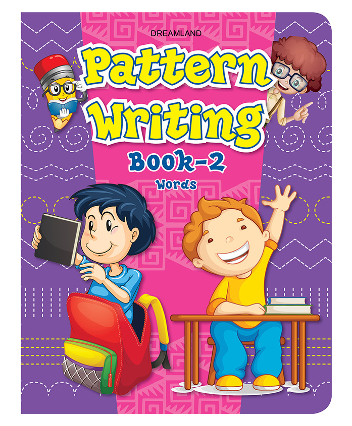 Dreamland Publication Pattern Writing Book Part 2 - English