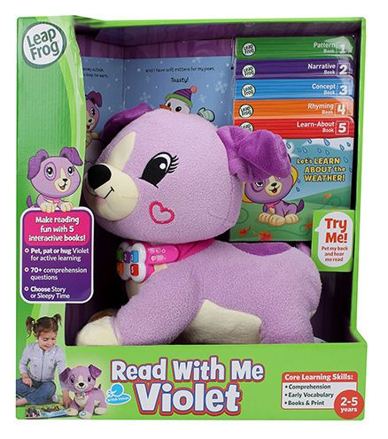 Leap Frog Read With Me Scout - Green Violet