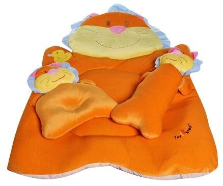 1st Step Lion Bed Set - Orange