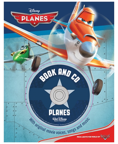 Parragon Disney Planes Book And CD - English