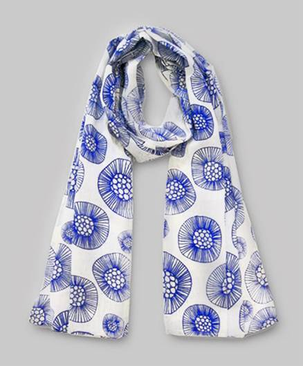 Floral Print Scarf- Assorted