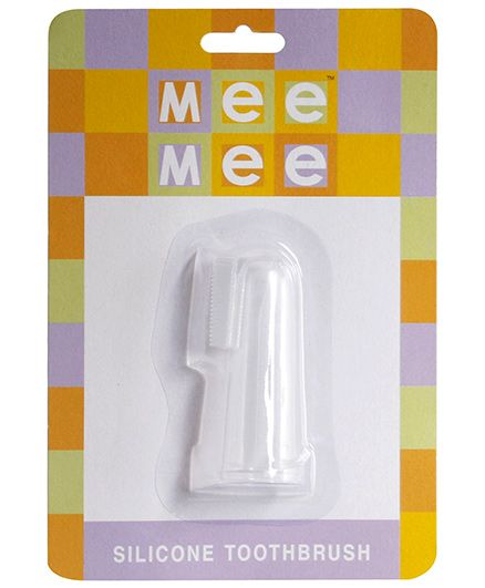 Mee Mee Silicone Toothbrush