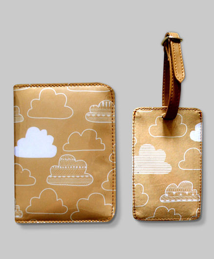 Cuddly Clouds Travel Set