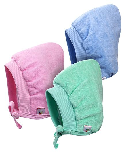 Tinycare Bonnet Style Cap Medium - Set Of 3