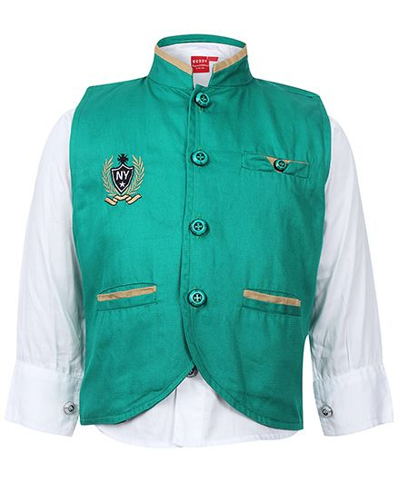 Noddy Original Clothing Full Sleeve Shirt With Waistcoat
