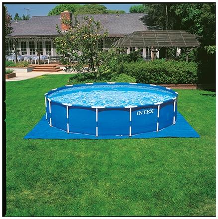 Intex Metal Frame Pool Set