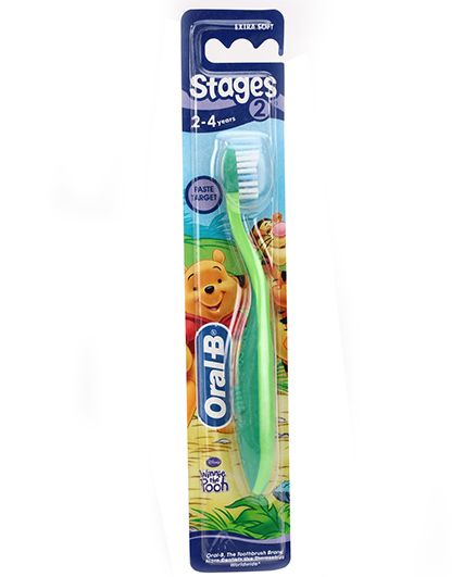 Oral-B Extra Soft Tooth Brush Stage 2 - Green