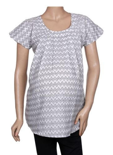 Uzazi - Maternity Wear Casual Cap Sleeve Top