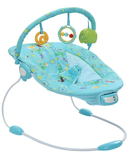 Mastela Musical Soothe Bouncer - Blue