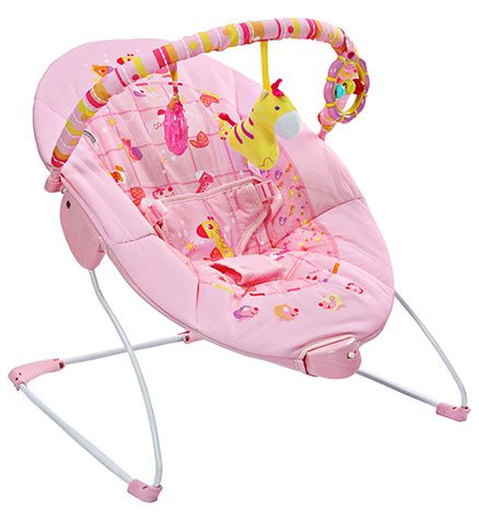 Mastela Soothing Vibrations Bouncer - Pink