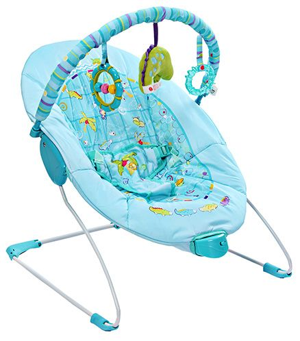 Mastela Soothing Vibrations Bouncer - Blue
