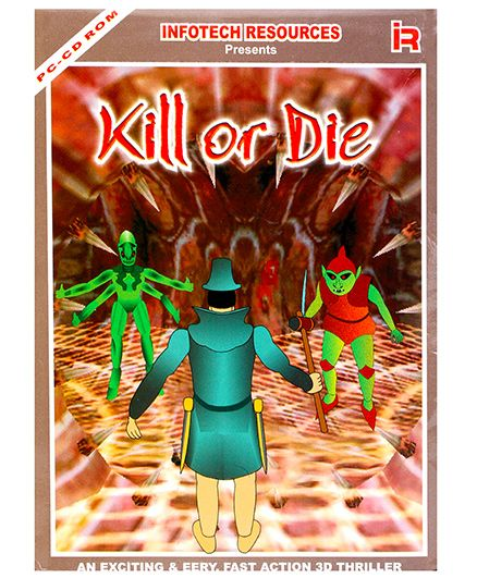 Infotech Resources Kill Or Die 3D Action Game CD ROM - English