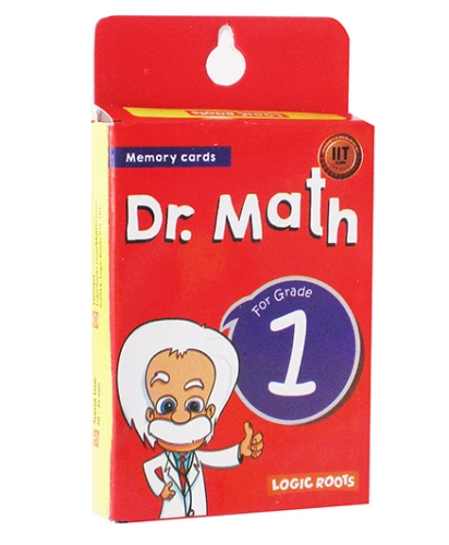Logic Roots Dr Math Flash Cards For Class 1 - Grade 1