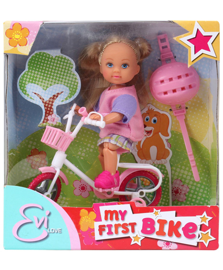 Evi Love My First Bike - Height 11 cm