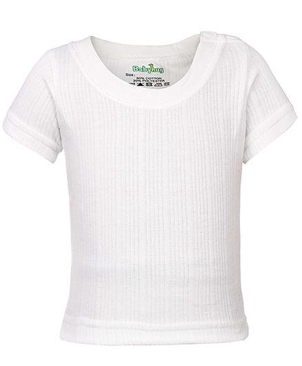 Babyhug Half Sleeve Thermal T-Shirt