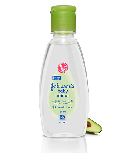 Johnsons Baby Hair Oil, 60 ml