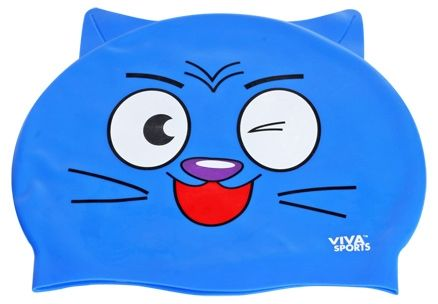 Viva Sports Cat Swimming Cap