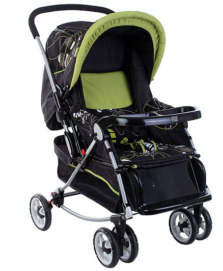 Mee Mee Baby Pram with Canopy - Green