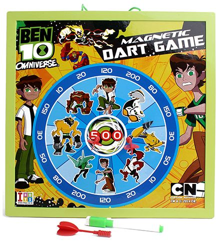 Ben 10 Omniverse 2 In 1 Writing And Magnetic Dart Board