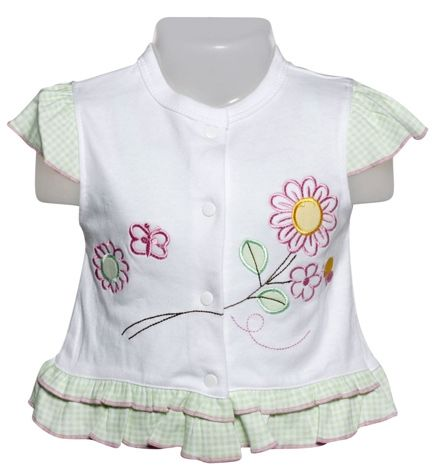 Baby Frock - Green