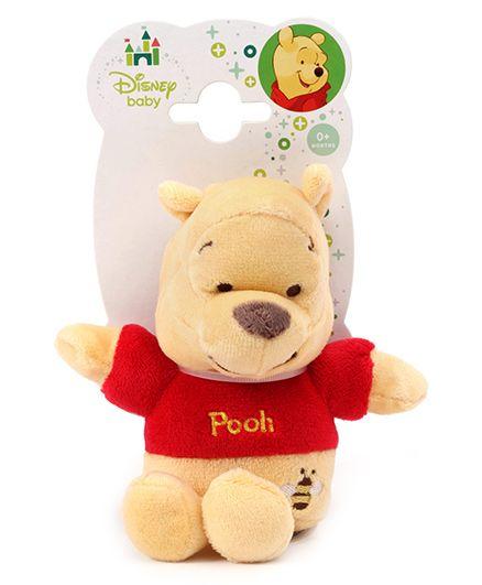 Disney Winnie The Pooh Squeakar - Red And Beige