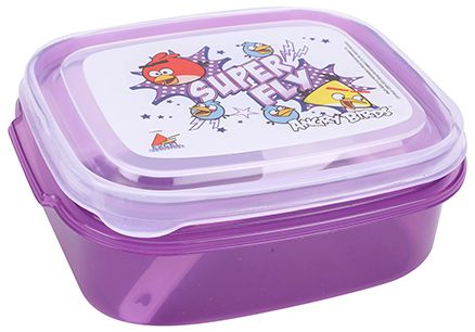 Angry Birds Lunch Box - Purple