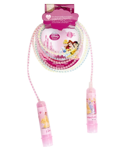 Disney Jumping Rope Princess Print - Pink