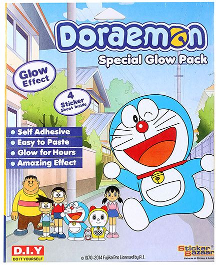 Doraemon Special Glow Pack - Multicolor