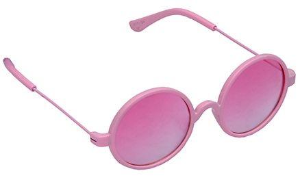 Spiky Round Sunglasses