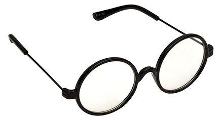 Spiky Round Sunglasses - Black