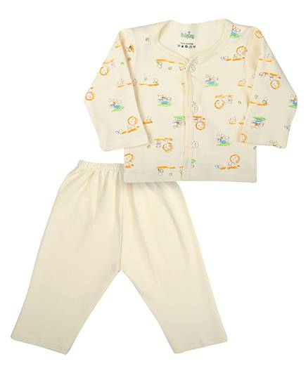 Babyhug T-Shirt And Legging Set - Full Sleeves