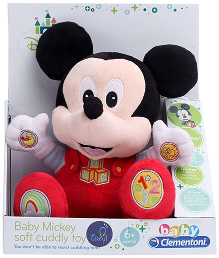 Disney Mickey Mouse And Friends Talking Plush - Length 28 cm