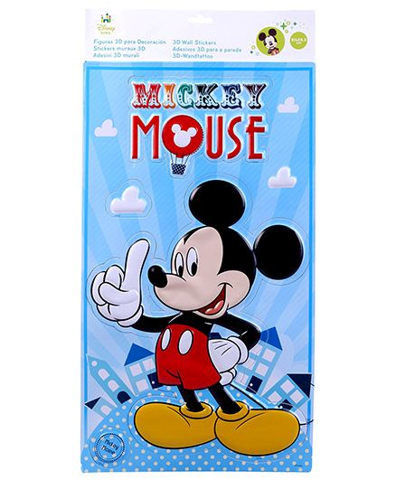 Mickey Mouse And Friends 3D Wall Sticker - Big