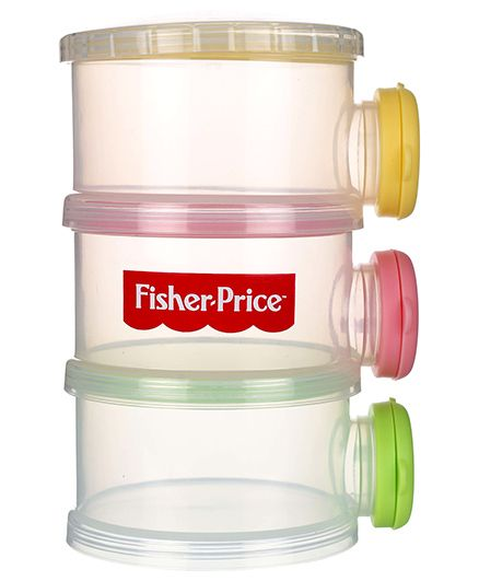 Fisher Price Milk Powder Container - Multi Color
