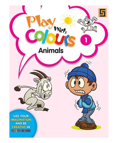 Play With Colors Animals - English