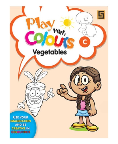 Play With Colors Vegetables - English