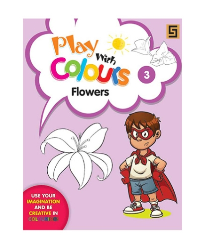 Play With Colors Flower Series 3 - English