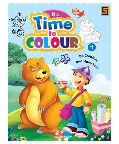 Its Time To Color Book Volume 1 - English