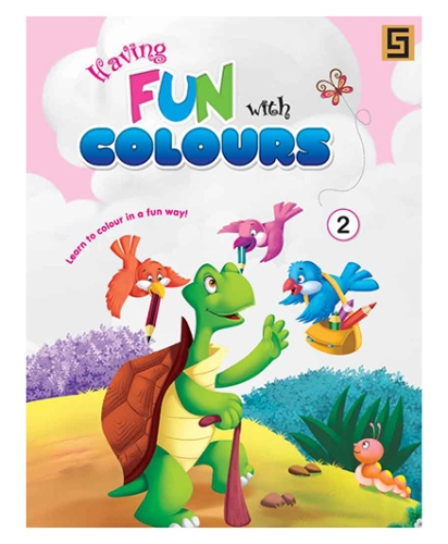 Having Fun With Colors Volume 2 - English