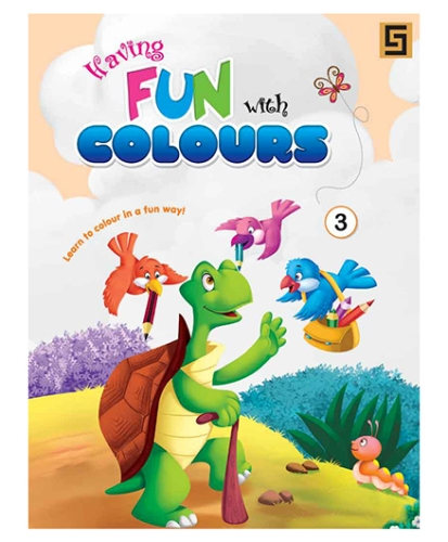 Having Fun With Colors Volume 3 - English
