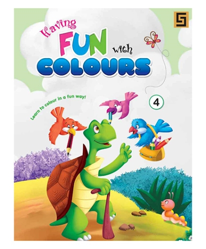 Having Fun With Colors Book 4 - English