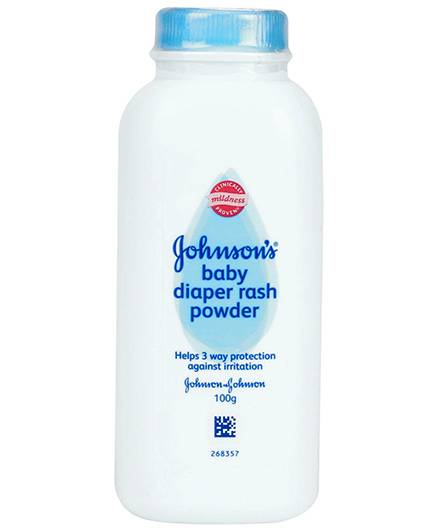 Johnson's baby Diaper Rash Powder - 100 gram